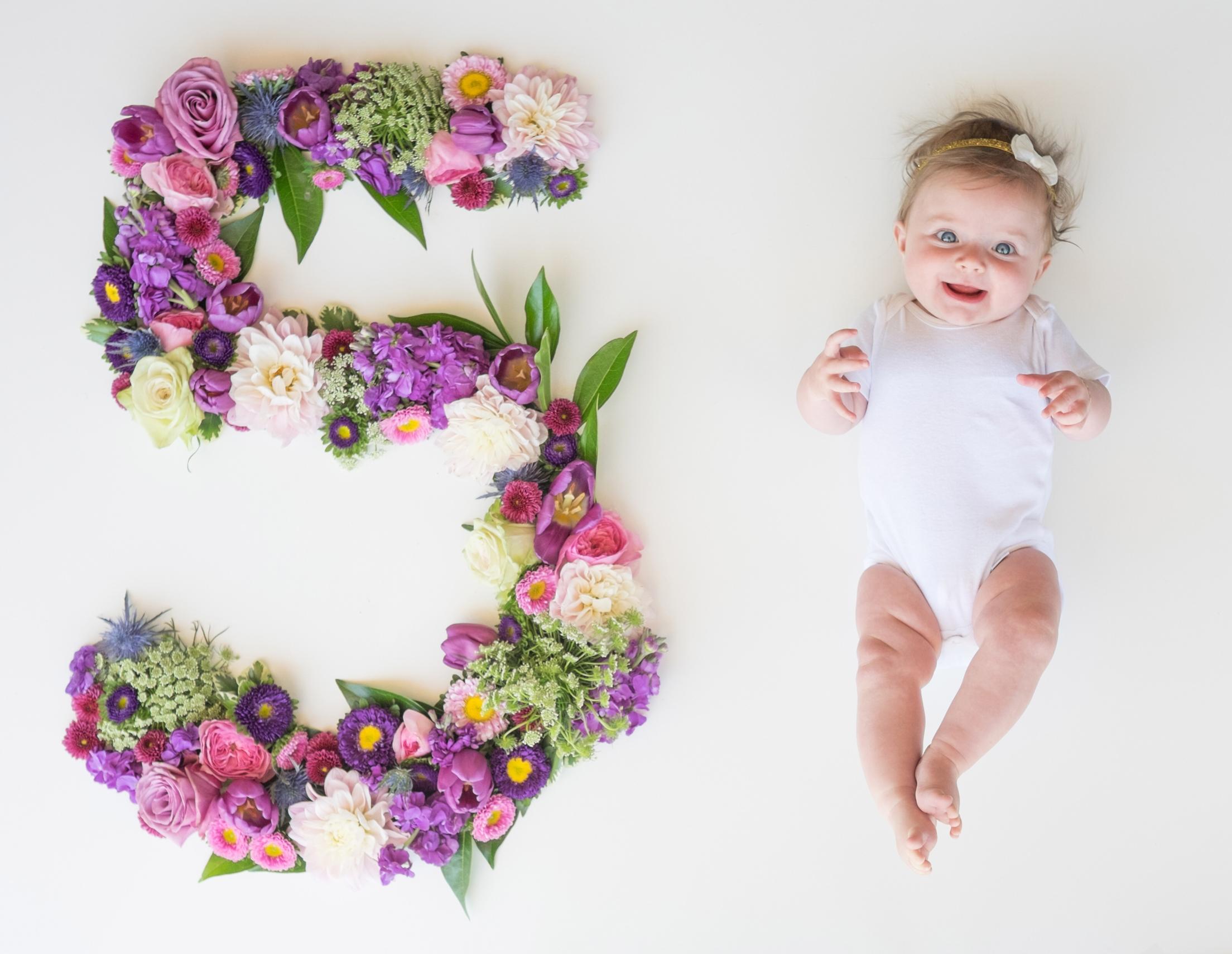 Month Five Fine Baby Website Newborn New